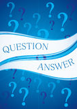 Question and Answer Stock Image