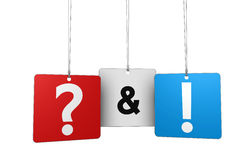 Question And Answer Concept Stock Photography