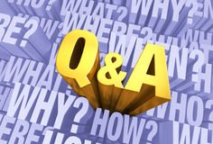 Question And Answer Time Stock Photos