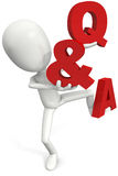 Question & answers Royalty Free Stock Photos