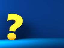 Question background Stock Photos