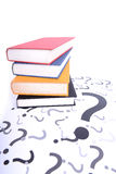 Question books Royalty Free Stock Images