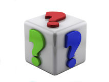 Question box Stock Photography
