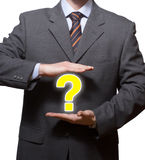 Question business Royalty Free Stock Photography