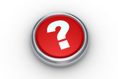 Question button Royalty Free Stock Photos