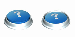 Question Buttons 1 Royalty Free Stock Photography