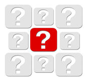 Question concept Stock Images
