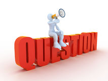 Question concept Stock Photo