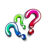Question concept vector Stock Photography