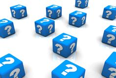 Question Concepts Stock Photography