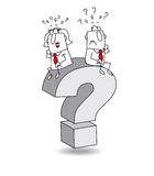 Question royalty free stock photo