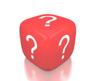 Question Cube Stock Image
