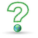 Question-Ecology Royalty Free Stock Photo