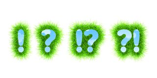 Question Exclamation Marks Royalty Free Stock Images