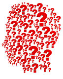 Question head Royalty Free Stock Image