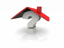 Question home Royalty Free Stock Images
