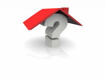 Question home Royalty Free Stock Image