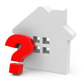 The question house Royalty Free Stock Photos