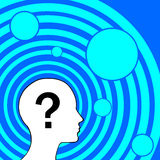 Question in human�s life Royalty Free Stock Photo