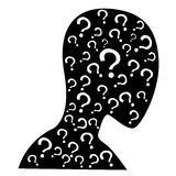Question human Royalty Free Stock Images