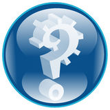 Question Icon Stock Photography