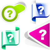 Question icon. Stock Photo