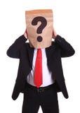 Question man Stock Photos