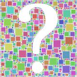 Question mark ? ? ? Royalty Free Stock Images