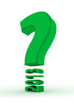 Question mark. With 2013 year Stock Image