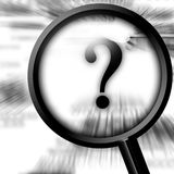 Question mark Stock Photography