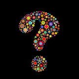 Question-mark royalty free illustration