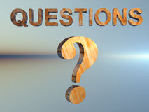 Question Mark. Royalty Free Stock Photos