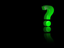 Question mark Royalty Free Stock Photography