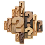Question mark abstract Stock Photography