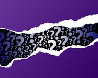 Question mark abstract background Royalty Free Stock Photo
