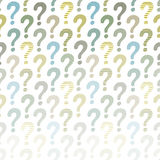 Question Mark Background Photographie stock libre de droits