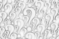 Question mark background Stock Images