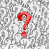 Question mark background Royalty Free Stock Image