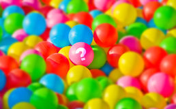 Question mark. Royalty Free Stock Photo
