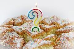 Question Mark Birthday photos stock