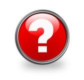 Question mark button Stock Photo