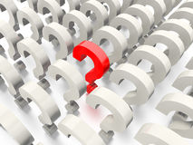 Question Mark Concept Graphic Stock Images
