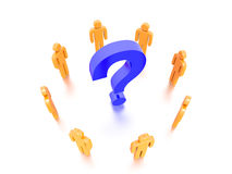 Question Mark Concept Graphic Stock Image