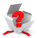 The question mark Stock Images