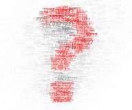 Question mark design element Stock Photography