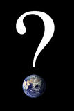 Question Mark Earth Stock Photos