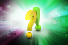 Question mark with exclamation mark Royalty Free Stock Photos