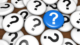 Question Mark Faq Questions Concept Stock Image