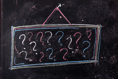 Question mark Royalty Free Stock Images
