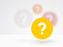 question mark icon Royalty Free Stock Photos